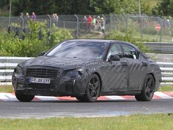 Новый Mercedes-Benz S63 AMG выехал на тесты