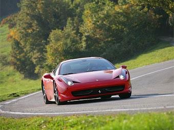 Открытый суперкар Ferrari 458 Italia получит жесткую крышу