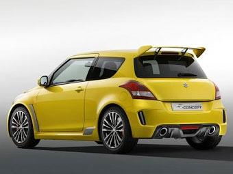 Спортивный Suzuki Swift появится в 2012 году