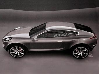 Британский журнал раздобыл рендеры трехдверного кроссовера Porsche