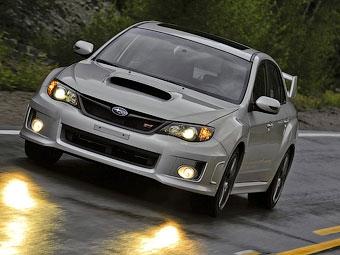Subaru выпустит под именем WRX спортивное купе