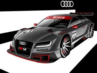 Audi показала модель А5 для чемпионата DTM