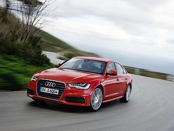 В России начались продажи Audi A6 с новым мотором