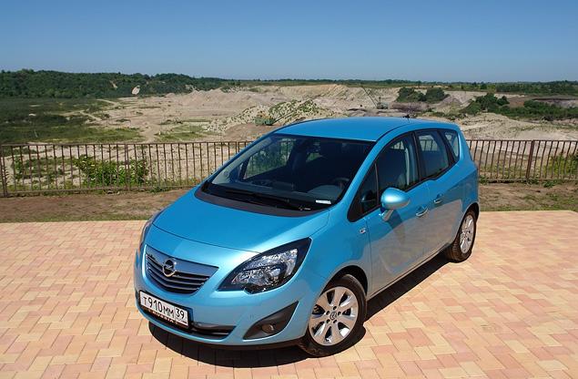 Распахиваем двери на новом Opel Meriva