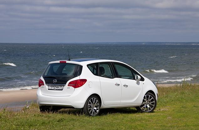 Распахиваем двери на новом Opel Meriva. Фото 1