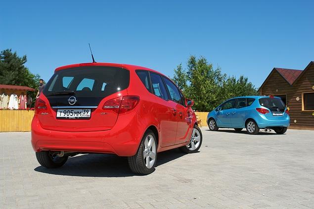 Распахиваем двери на новом Opel Meriva. Фото 3
