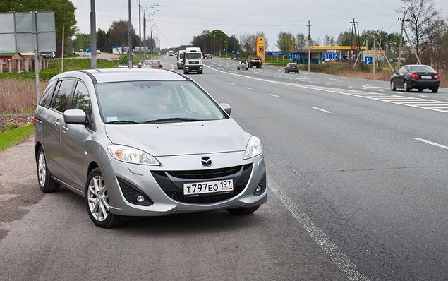 Длительный тест Mazda5: третья неделя