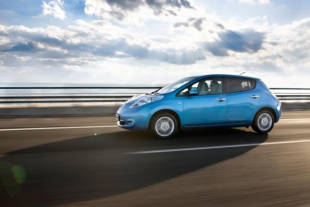 "В ""Лужниках"" прошла презентация электрокара Nissan Leaf. Фото 3"