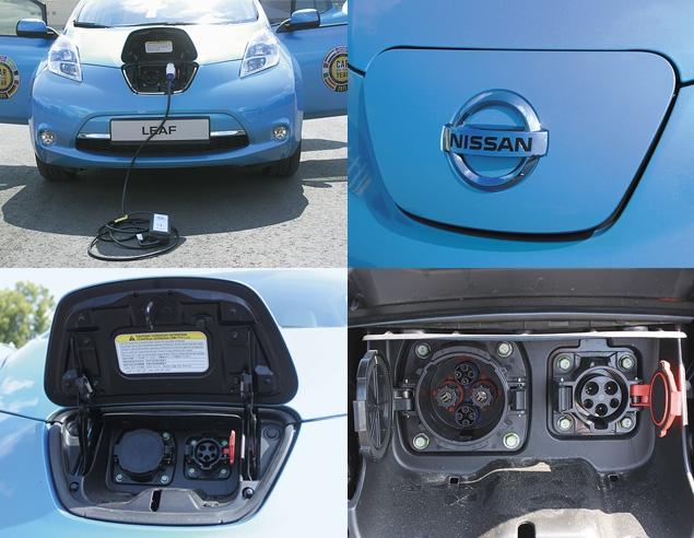 "В ""Лужниках"" прошла презентация электрокара Nissan Leaf. Фото 4"