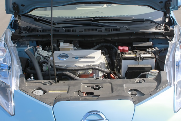 "В ""Лужниках"" прошла презентация электрокара Nissan Leaf. Фото 8"