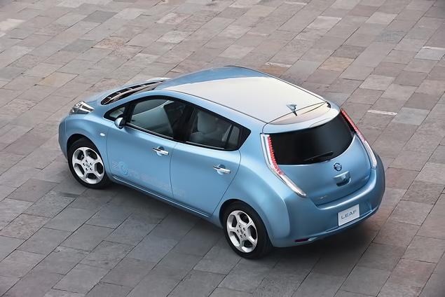 "В ""Лужниках"" прошла презентация электрокара Nissan Leaf. Фото 9"