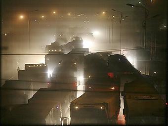 На китайском шоссе образовалась 100-километровая пробка