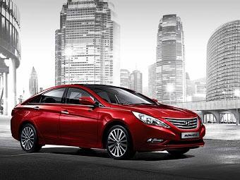 Компания Hyundai обновила седан Sonata