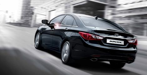 В Южной Корее представлен рестайлинговый седан Hyundai Sonata