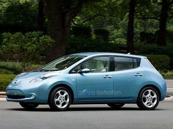 Nissan модернизирует для США электрокар Leaf