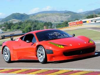 В Ferrari подготовили суперкар 458 Italia для американских гонок