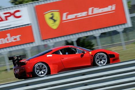 Компания Ferrari представила версию суперкара 458 Italia для гонок Grand Am