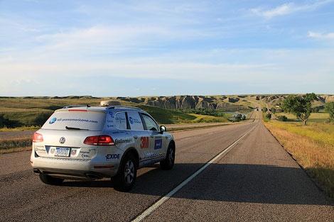 """Команда путешественников проехала все Панамериканское шоссе на дизельном """"Туареге"""" за 11 дней. Фото 1"""