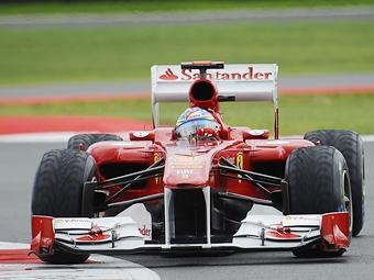 Алонсо занял первое место на тренировке Гран-при Германии