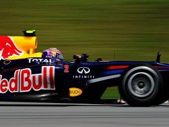 Уэббер показал лучшее время во второй тренировке Гран-При Германии