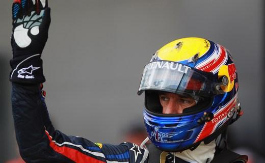 Марк Уэббер завоевал поул-позицию на Гран-при Германии