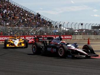 Команда Penske завоевала дубль на гонке INDYCAR в Эдмонтоне