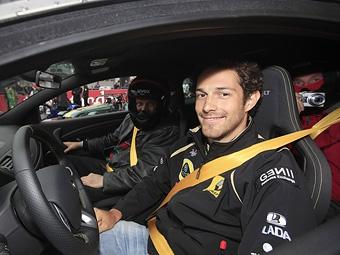 Сенна заменит Хайдфельда в первой тренировке Гран-при Венгрии