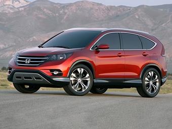 Компания Honda показала прототип нового CR-V