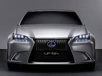 """У нового Lexus GS появится версия с кузовом """"купе"""""""
