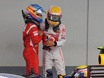 Алонсо выразил надежду на помощь McLaren в борьбе с Red Bull