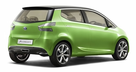 Индонезийское подразделение Daihatsu представило компактный концептуальный автомобиль