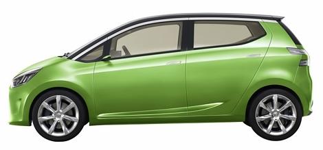 Индонезийское подразделение Daihatsu представило компактный концептуальный автомобиль. Фото 1