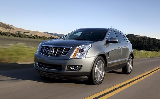 Cadillac рассекретил обновленный кроссовер SRX
