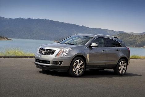 Компания Cadillac представила кроссовер SRX 2012 модельного года. Фото 1