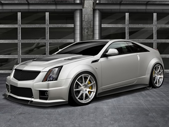 Американцы построят 1000-сильное купе Cadillac CTS-V
