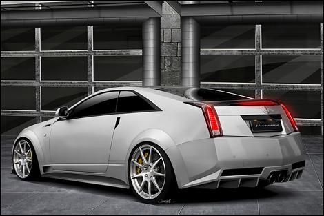 Ателье Hennessey редставило проект по созданию 1000-сильной версии купе Cadillac CTS-V