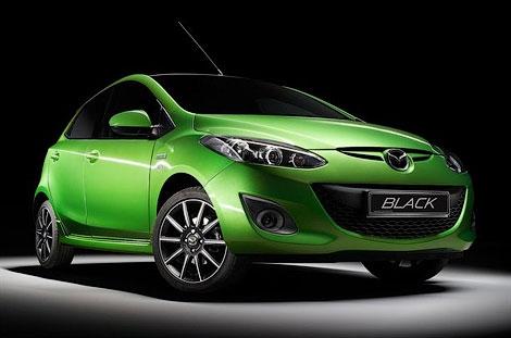 Mazda MX-5 и Mazda2 получили спецсерию под названием Black. Фото 2
