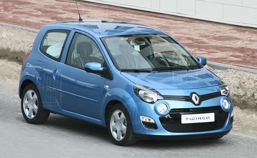 Появились первые фотографии нового Renault Twingo