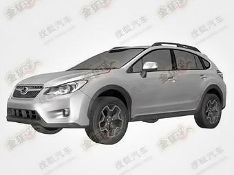 """Появились изображения """"внедорожной"""" версии новой Subaru Impreza"""
