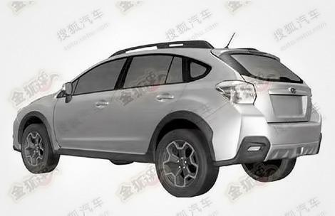 Рассекречена внешность внедорожной модификации хэтчбека Subaru Impreza нового поколения