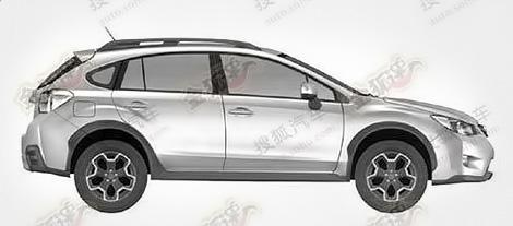 Рассекречена внешность внедорожной модификации хэтчбека Subaru Impreza нового поколения. Фото 1