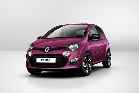 Компания Renault распространила первую фотографию обновленного Twingo