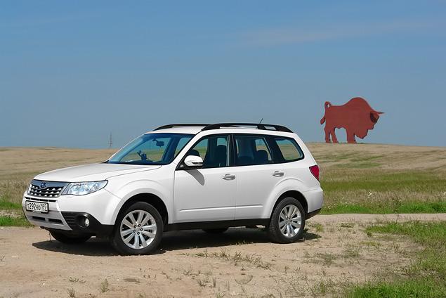 «Рефрешимся» вместе с Subaru Forester