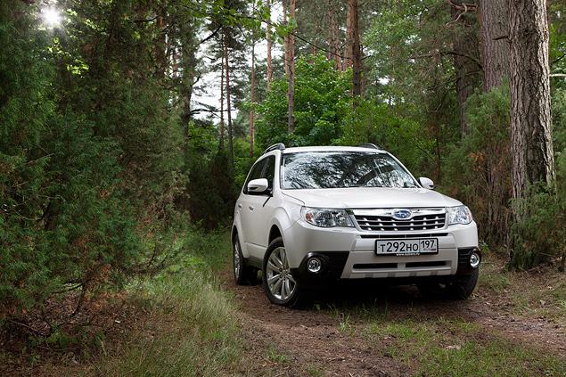 «Рефрешимся» вместе с Subaru Forester. Фото 3