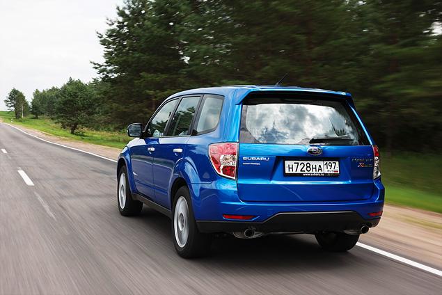«Рефрешимся» вместе с Subaru Forester. Фото 10