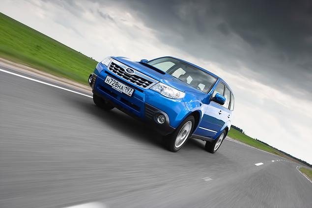 «Рефрешимся» вместе с Subaru Forester. Фото 11