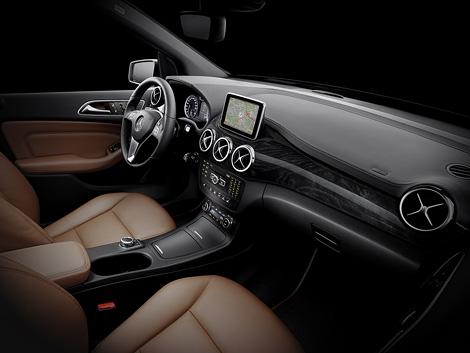 Mercedes-Benz опубликовал снимки интерьера B-Class следующего поколения
