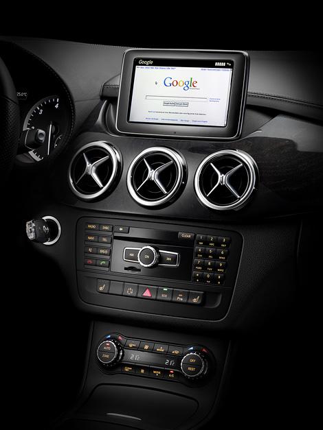 Mercedes-Benz опубликовал снимки интерьера B-Class следующего поколения. Фото 5