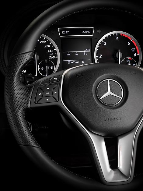 Mercedes-Benz опубликовал снимки интерьера B-Class следующего поколения. Фото 6
