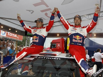 Леб во второй раз в карьере победил на Ралли Финляндии WRC